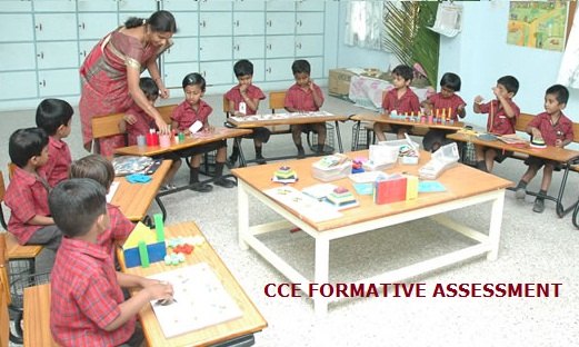 CCE formative assessment