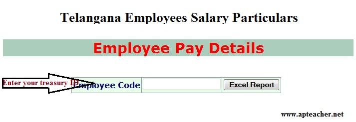Telangana Employees Salary Particulars, TS Employees Salary details, Telangana Employees Salary Particulars, Employee Monthly Pay Particulars